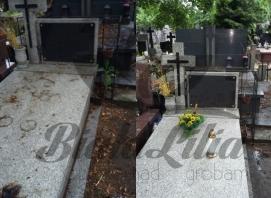 sprzątanie grobów